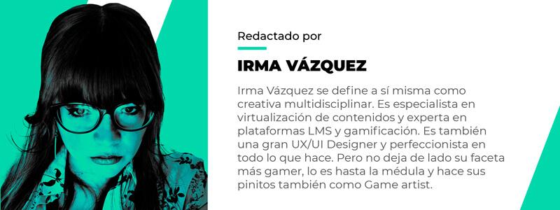 Irma Vázquez CODE SPACE