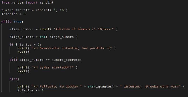 Lenguaje Python